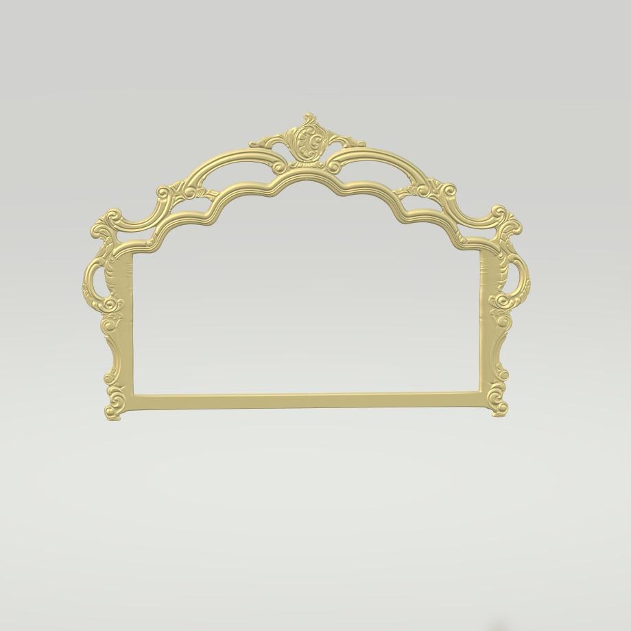 Bed Couch Sofa Design For CNC 3D Relief Carving ArtCAM Aspire Digital File STL Format