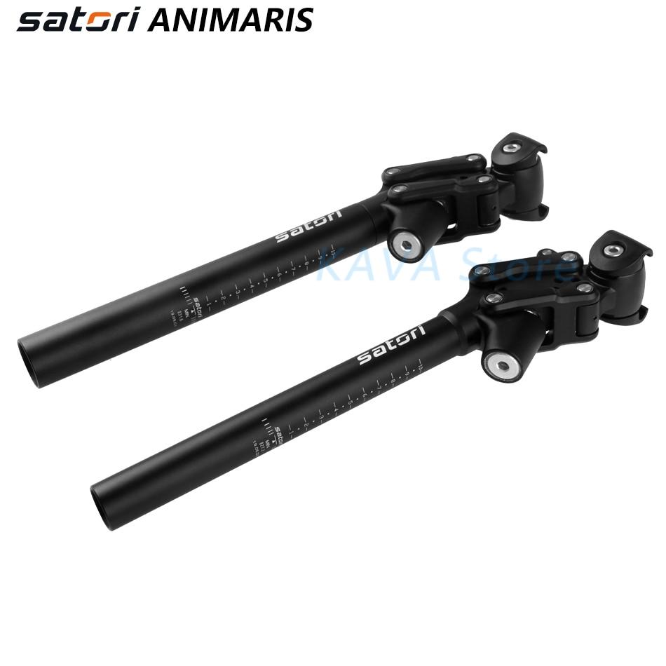 SATORI Animaris Bicycle Suspension Seatpost 350mm