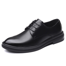 Fashion mens Dress Shoes Business Leather Lace-up Footwear Formal Shoes for Wedding Party classic oxford shoes for men shoes