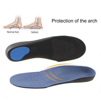 Flat foot orthopedic insole men #8217 s and women #8217 s arch support shoe insert pad EVA sole care insole sole sports shoe cushion sole tanie i dobre opinie CN (pochodzenie) Wkładki do tenisówek Spring2019