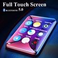 Новый Bluetooth 5,0 MP3-плеер с динамиком, 2,5 дюйма, полный сенсорный экран, 16 ГБ, электронная книга, FM радио, Hi-Fi, Bluetooth, без потерь, музыкальное видео
