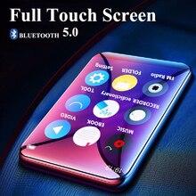 Reproductor de MP3 con Bluetooth 5,0, pantalla completamente táctil de 2,5 pulgadas, 16GB, E book, Radio FM, HiFi, Bluetooth, vídeo de música sin pérdidas