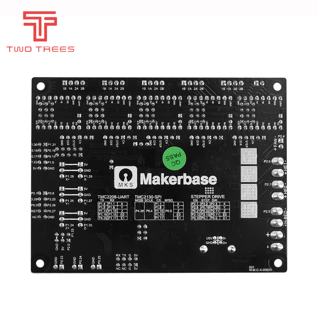 3D printer 32-Bit MKS SGen L Smoothieware and Marlin 2.0 control board approval TMC2208 and TMC2209 Motherboard spi mode part