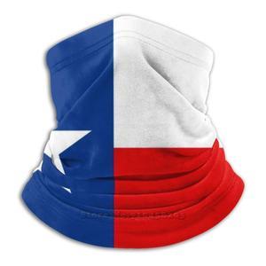 Велосипедные головные уборы с Техасским флагом, мускусным цветом, моющийся шарф, маска для лица, Техас, Джорджия, Остин, колледж, кантри, Даллас