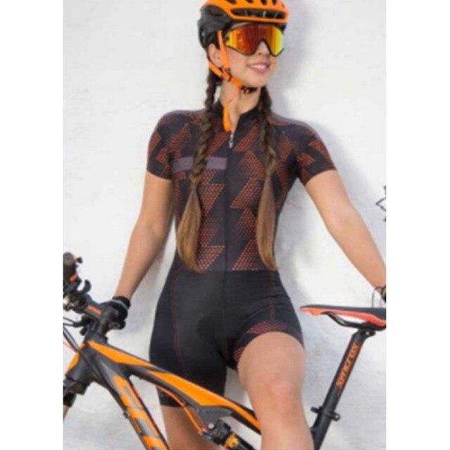 2020 das mulheres triathlon manga curta camisa de ciclismo define skinsuit maillot ropa ciclismo roupas bicicleta ir macacão 3