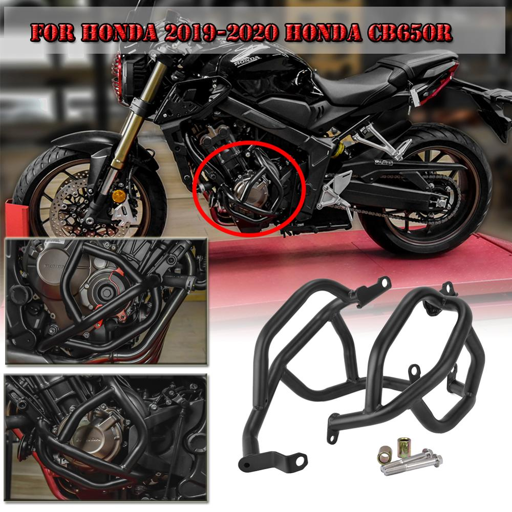 Motorcycle Engine Guard Crash Bar Guard Frame Bumper Fall Protection Protector For 2019 2020 Honda CB650R CB 650R Accessories