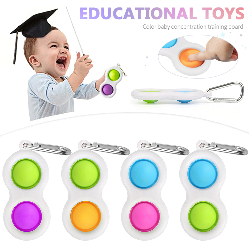 Relief-Toy Fidget Dimple-Stress Sensory Wholesale New for Kids Early-Educational-Toy img2
