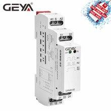 GEYA GRM8 импульсное реле AC230V или AC/DC12V-240V реле с фиксацией на din-рейку электронного типа