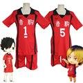 Униформа для волейбольной команды Anime Haikyuu Cosplay Костюм Nekoma Kenma Kozume, спортивная форма Kuroo Tetsurou