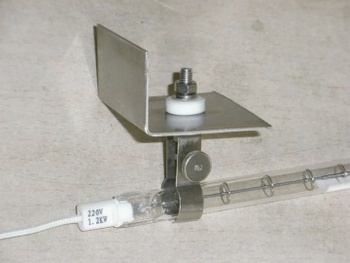 Good Quality Quartz Glass Tube Infrared Heater Lamp Halogen Heating Lamp Infrared Heater For Oven