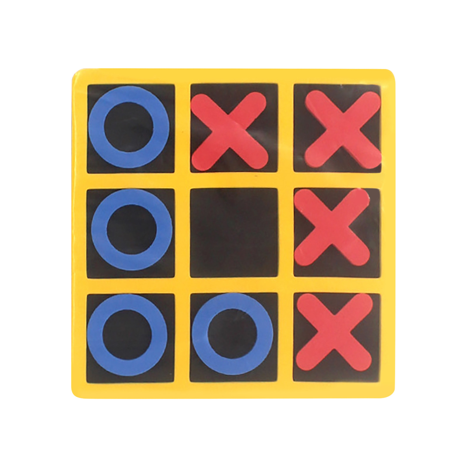 Noughts And Crosses Educational Puzzle Kids Children Wooden Board Games Indoor Playing Tic-tac-toe Noughts Family 7