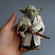 Disney Star Space Wars Master Yoda PVC Action Figure Toy Yoda Model Collectible Toys For Children Boys Christmas Birthday Gift