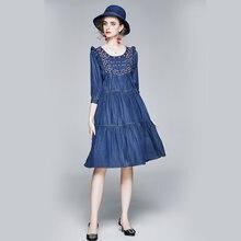 Zuoman для женщин в винтажном стиле; Сезон осень джинсовой ткани