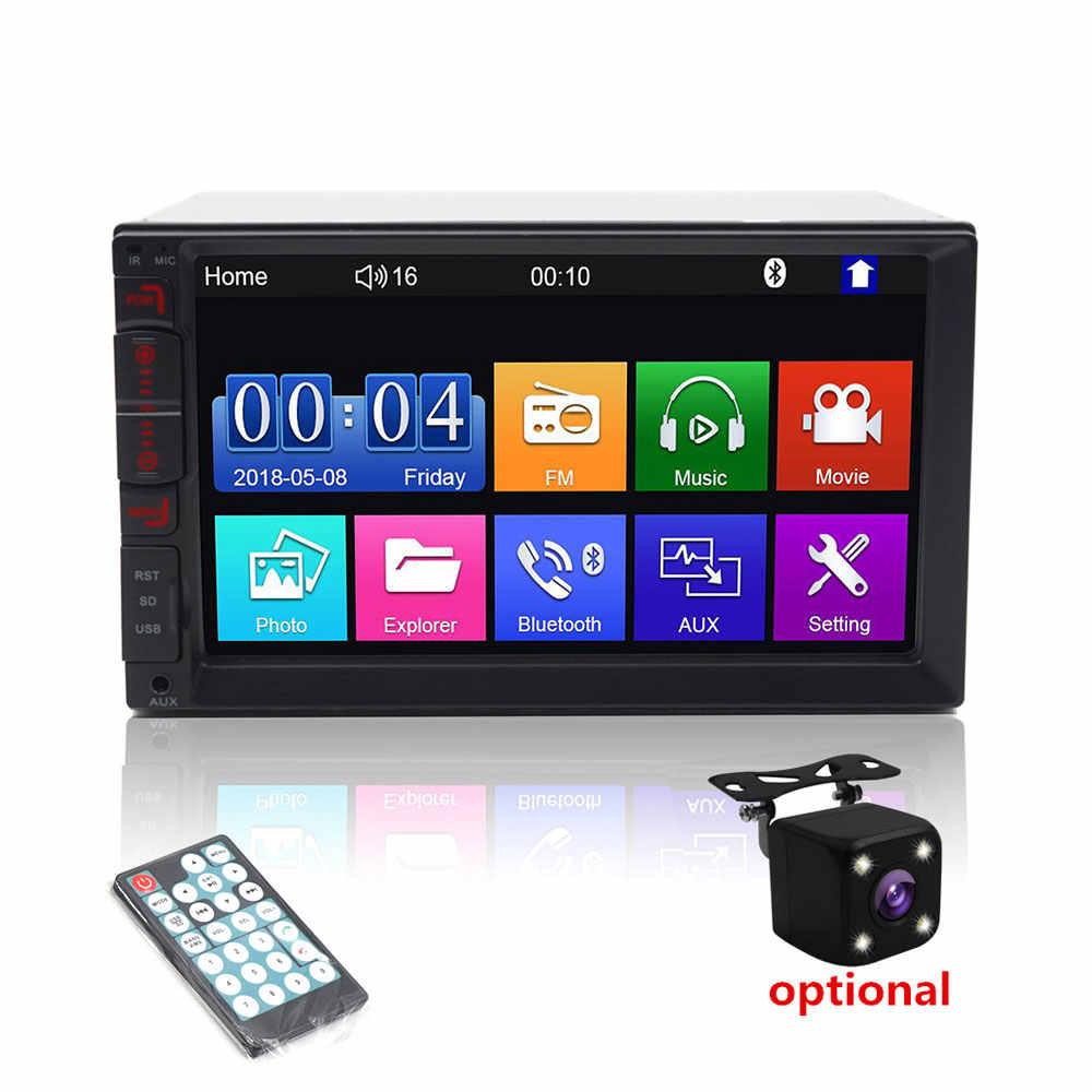 Autoradio 7 ''Touch Screen MP4 / MP5 Universele Autoradio Usb Multimedia Speler Gps 2 Din Android Auto Radio speler