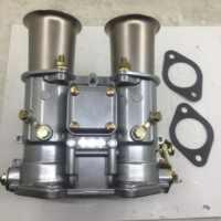 Carburador Weber de 45 DCOE, 45mm, doble estrangulador, 19600.017, 4 cyl, 6 Cyl o V8, motores para fajs EMPI, Weber, Solex, dellorto, cuernos de aire