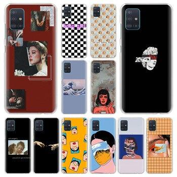 Перейти на Алиэкспресс и купить Чехол для samsung Galaxy A10e A10 A10s A20 A20e A30s A40 A50 A50s A60 A70 A80 защитный чехол для телефона чехол