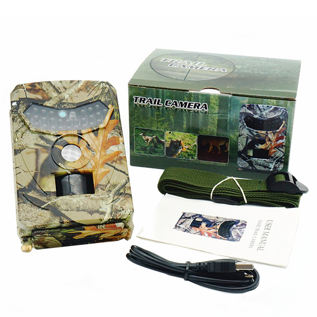 Outdoor Hunting Trail Camera 12MP New Wild Animal Detector Cameras HD Waterproof Monitoring Infrared Cam Night Vision Photo Trap 6