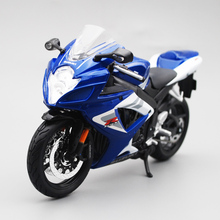 Maisto 1/12 Suzuki GSX R750 Motorcycle Motorbike Diecast Display Model Toy For Kids Boys Girls license plate holder for suzuki gsxs 750 gsx s 750 gsx s 1000 gsxs 1000f motorcycle accessories tail tidy fender bracket