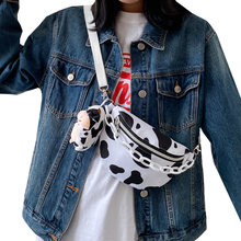 Модная Холщовая Сумка через плечо для женщин сумки с принтом