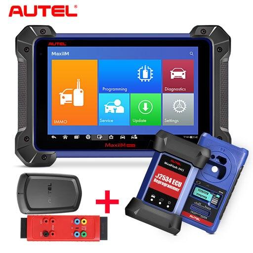Autel MaxiIM IM608 Diagnostic Key Programming and ECU Coding Tool PLUS  APB112 Smart Key Simulator and G BOX 2 Auto Key Programmers  - AliExpress