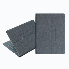 PU Leather USB Charging Tablet Accessories Ergonomic Foldable Soft Protective Ca