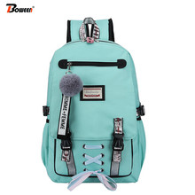 Teenage School Backpack for Girls School Bags Large Women Ny