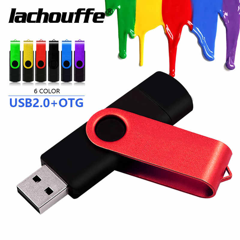 OTG Micro usb tipo-C Pen Drive USB Flash Drive 16GB 32GB 64GB 128GB pendrive memoria flash para typec smartphone/ordenador portátil USB