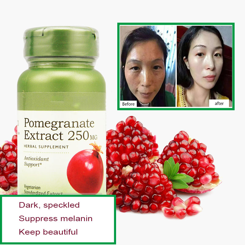 Pomegranate Seed Tannin Essence 250mg * 50pcs Ellagic Acid Antioxidant, Anti-aging And Whitening, Freckle Removal