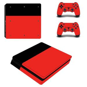 Image 2 - White Days of Play Full Cover Faceplates PS4 Slim Skin Sticker Decal Vinyl for Playstation 4 Console & Controller PS4 Slim Skin