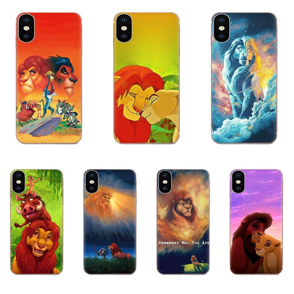 TPU <font><b>Mobile</b></font> <font><b>Case</b></font> The Hakuna Matata Lion King For <font><b>Samsung</b></font> Galaxy A10 A20 A20E A3 A40 A5 A50 A7 J1 J3 J4 J5 J6 <font><b>J7</b></font> 2016 <font><b>2017</b></font> 2018 image