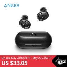 Anker – oreillettes sans fil Bluetooth 5.0, résistantes à la sueur et au bruit, avec Isolation du bruit