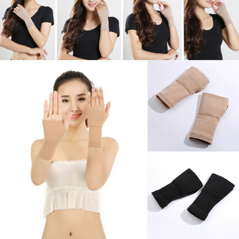 1pc Arthritis Sprain Strain Hand Wrist Arm Warmers Thumb Carpal Tunnel Support Glove Brace