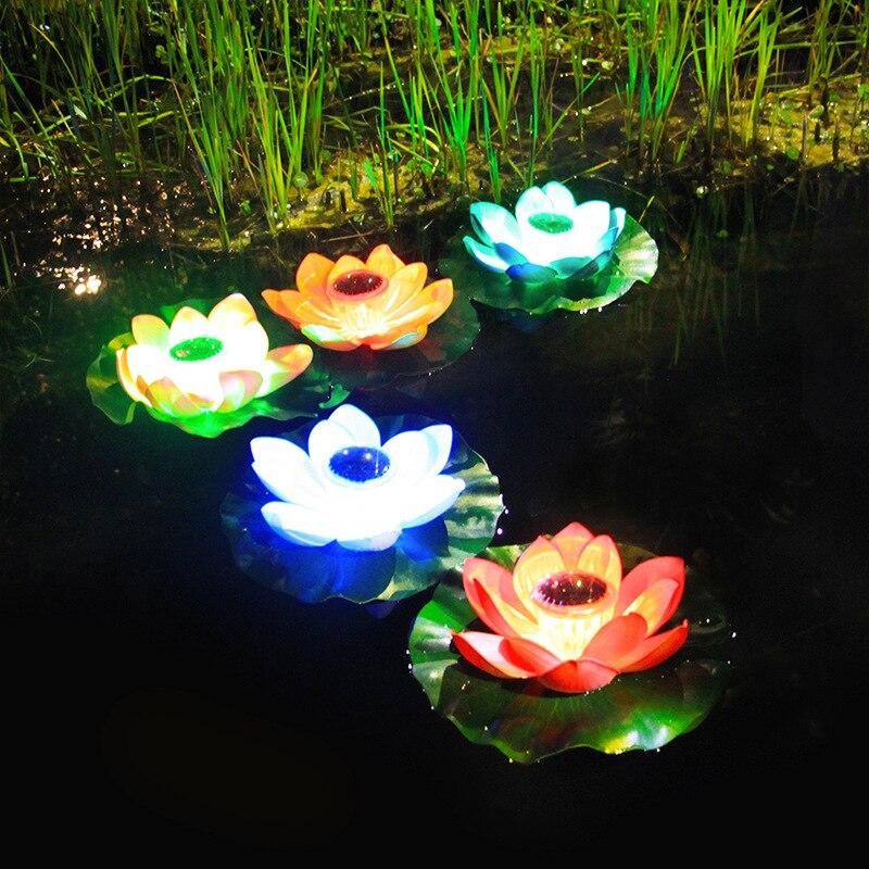 luz led para aquário externo, lago, decoração