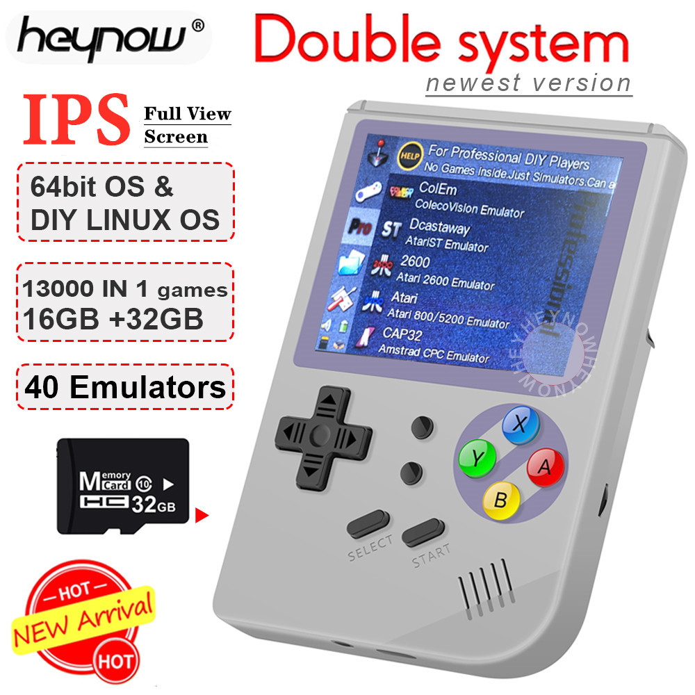 Console Game-Player Video-Game Ips-Screen Double-System Retro RG300 Portable Handheld title=