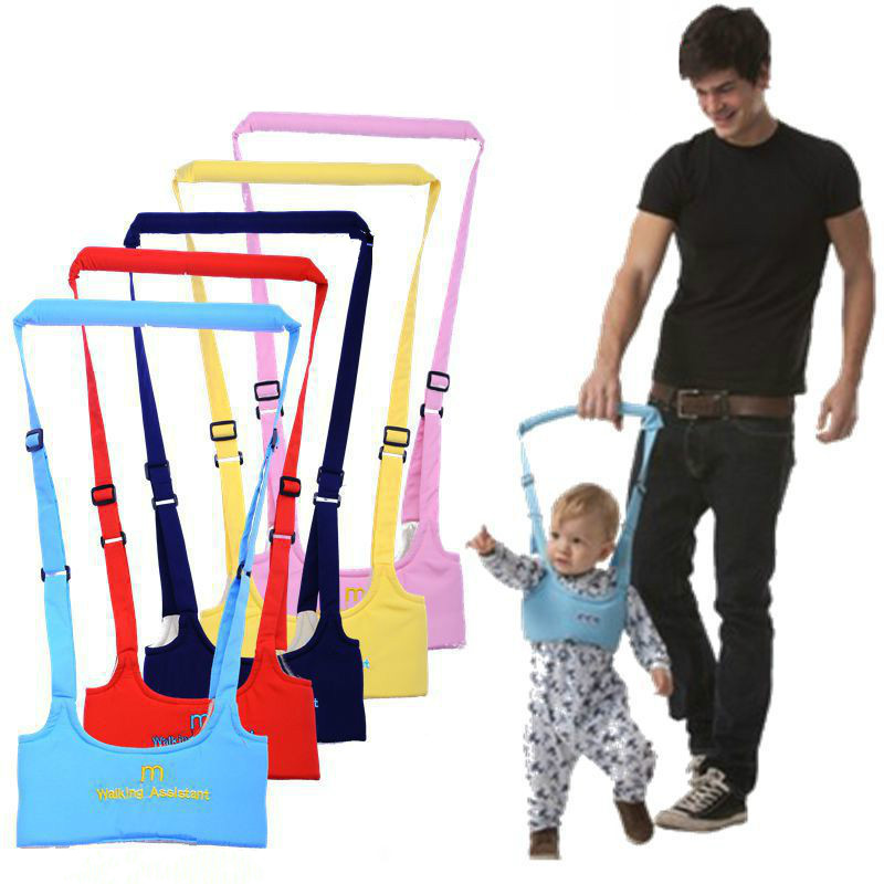 New Baby Walker, Portable Strap Assisted Toddler With Learning Training Children's Toddler Belt
