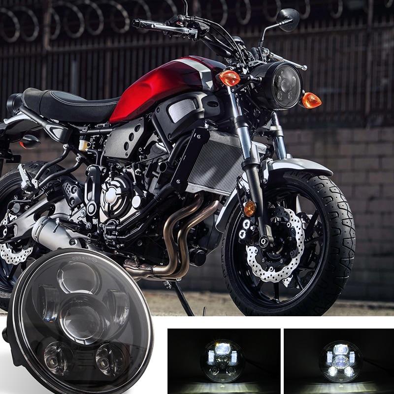 5.75 Inch Motorcycle Led Coven Is Light Intensity Lights Waterproof Anti-Fog Energy Saving Highlight Headlights