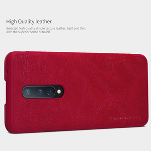 Image 3 - For OnePlus 8 Case NILLKIN PU Flip Smart Case For OnePlus 8 Pro Cover Wallet Leather Case