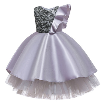 Girls Tutu Dress Tulle Flower Girl Dresses Pink Girls Wedding Pageant Ball Gown Children Girl Birthday Party Dress new girls puffy dress with bow ball gown flower girls dresses for wedding baby girls birthday party dress pageant gown