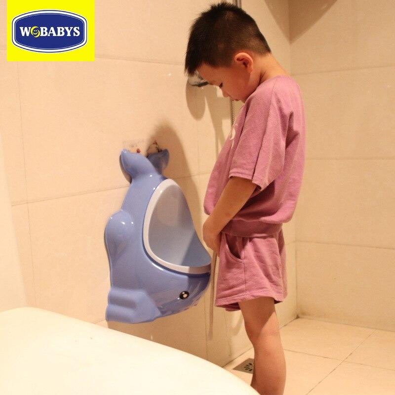 Drainage Urinal Wall Mounted Big Kid Dual Purpose Urinal CHILDREN'S Park Urinal Funnel-Automatic Children Urinal CHILDREN'S