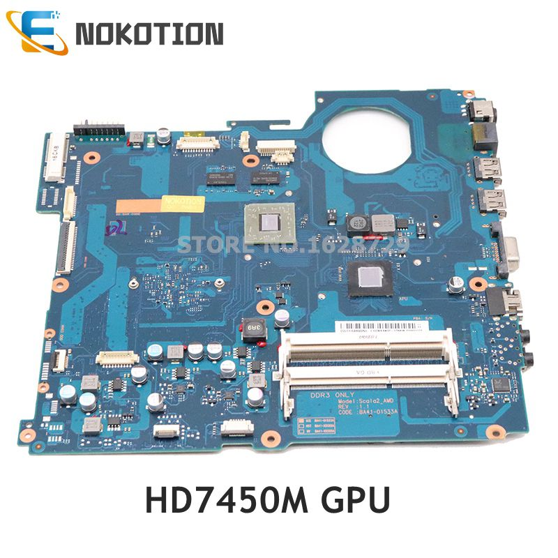 NOKOTION BA92-07849A BA92-07849B BA41-01533A For Samsung NP-RV515 RV515 Laptop Motherboard HD7450M DDR3 Full Test