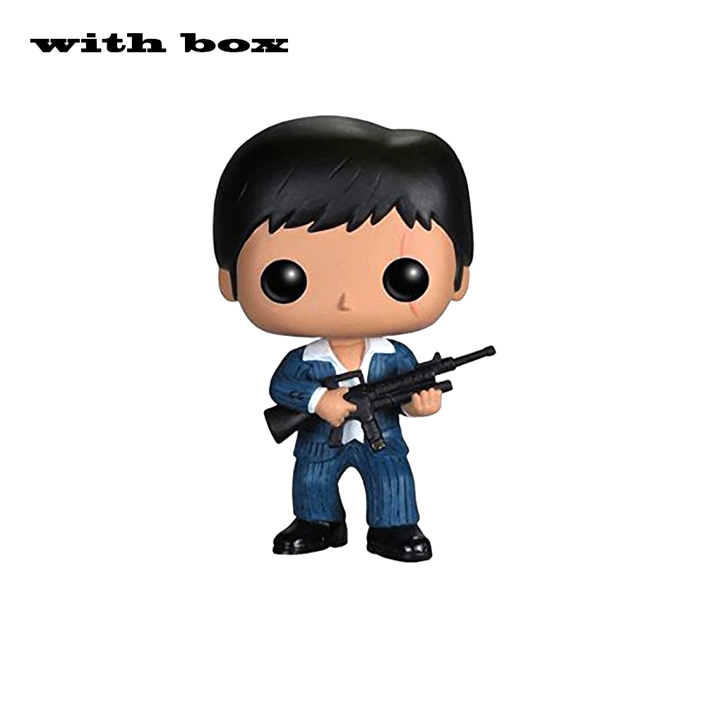 Scarface Tony Montana With Box Vinyl Action Figures  Collection Model Toys|Action & Toy Figures|   - AliExpress