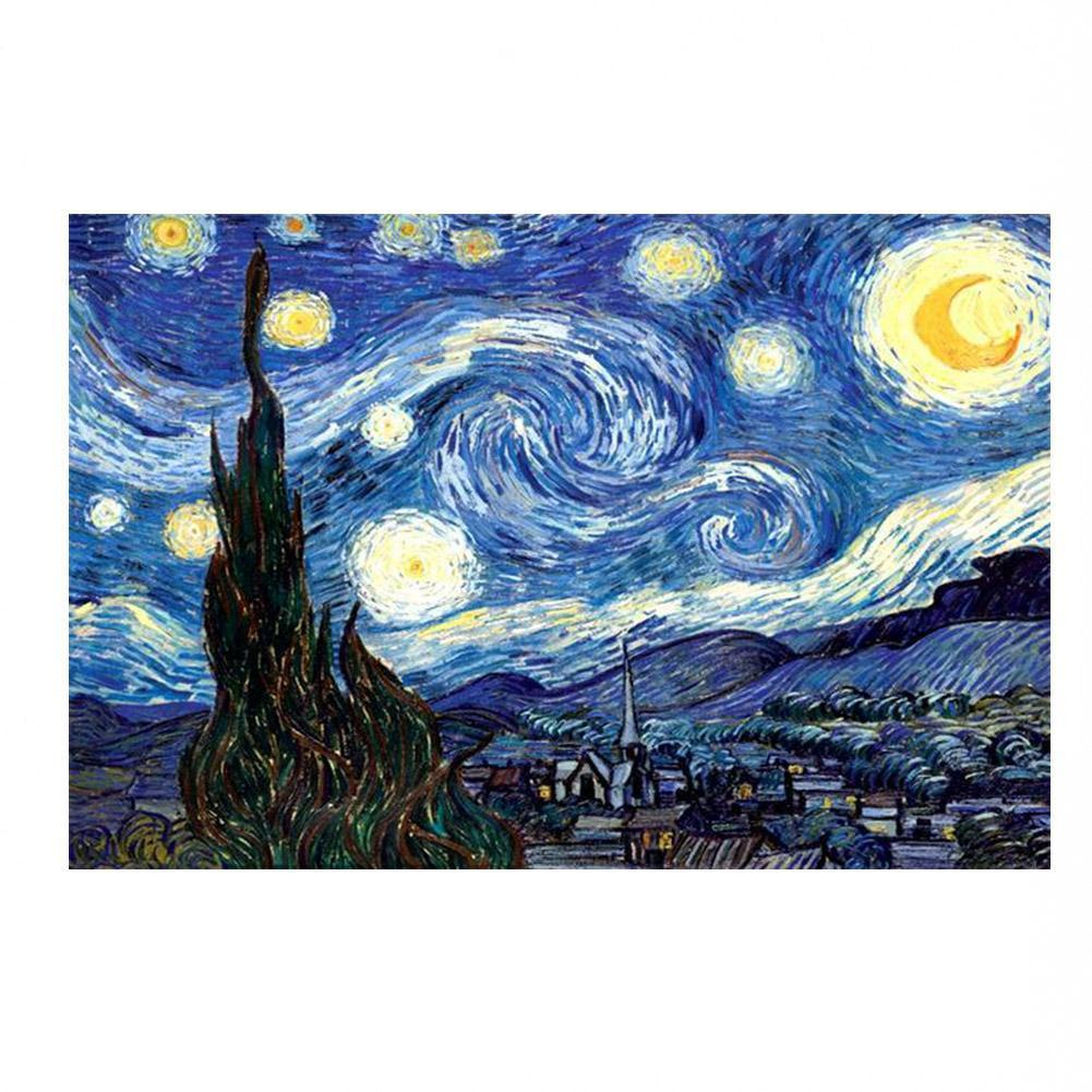 1000 Pieces Paper Assembling Picture Landscape Puzzles For Kids/Adults Decor Puzzles Toy Jigsaw Toy Educational Children Be N9D5
