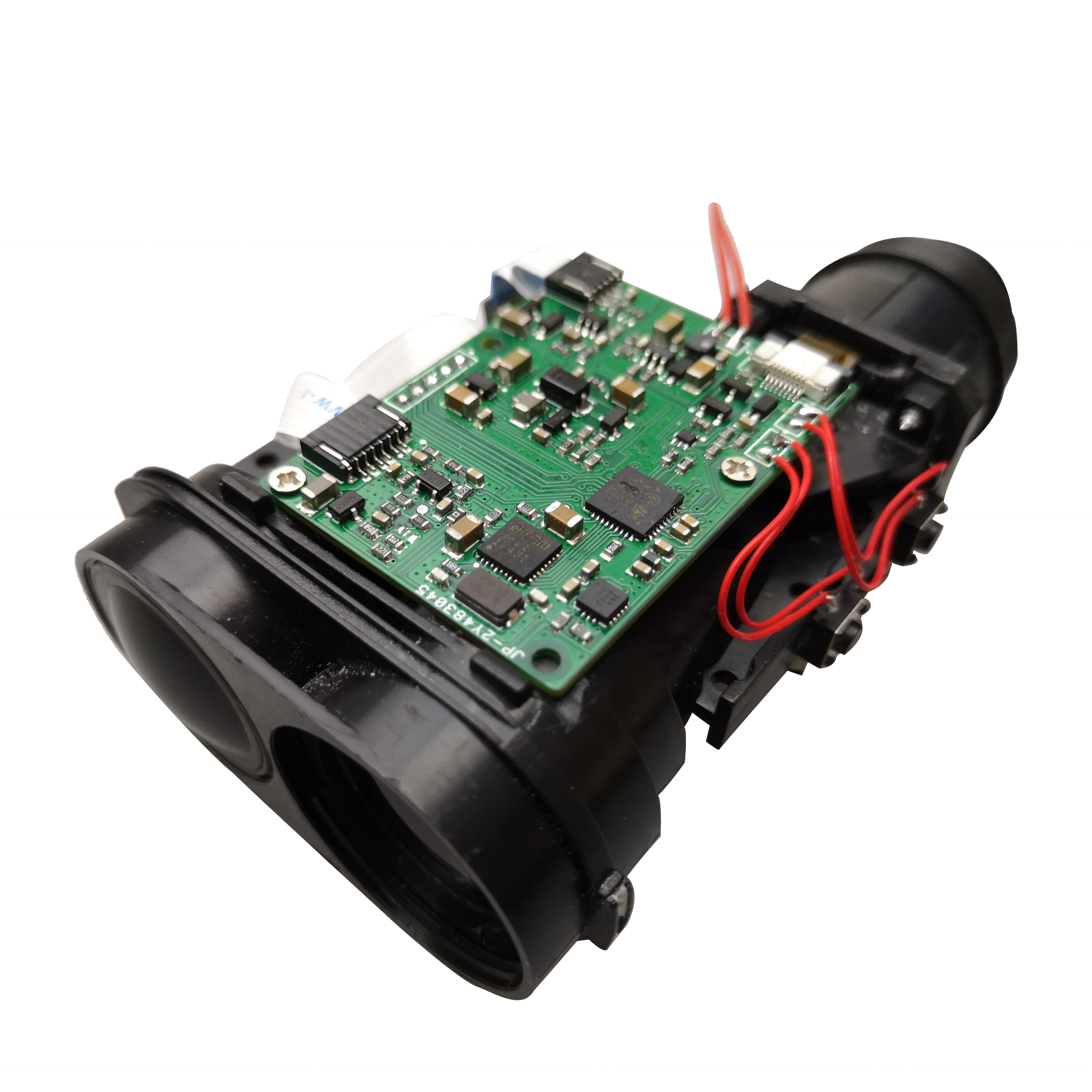 4000m Land Adjustable Magnification Laser Distance Meter Range Finder Laser Rangefinder Oem Module