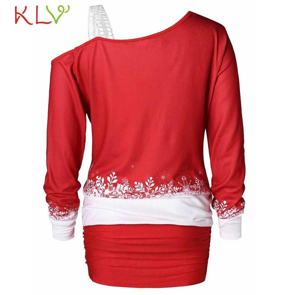 Vestido de natal ombro frio papai noel impressão do vintage vestido de festa à noite elegante 2020 traje feminino vestido de inverno 19sep
