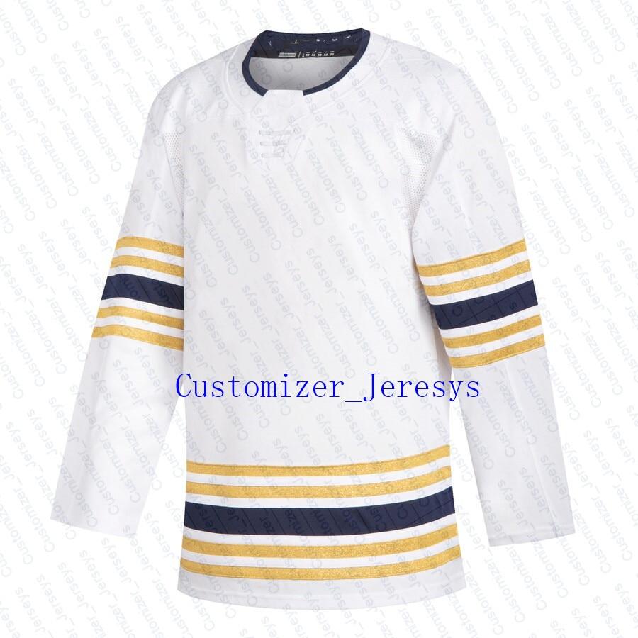 Rasmus Dahlin Jeff Skinner Jack Eichel Sam Reinhart Kyle Okposo Robin Lehner Ristolainen Buffalo White 50th Season Hockey Jersey