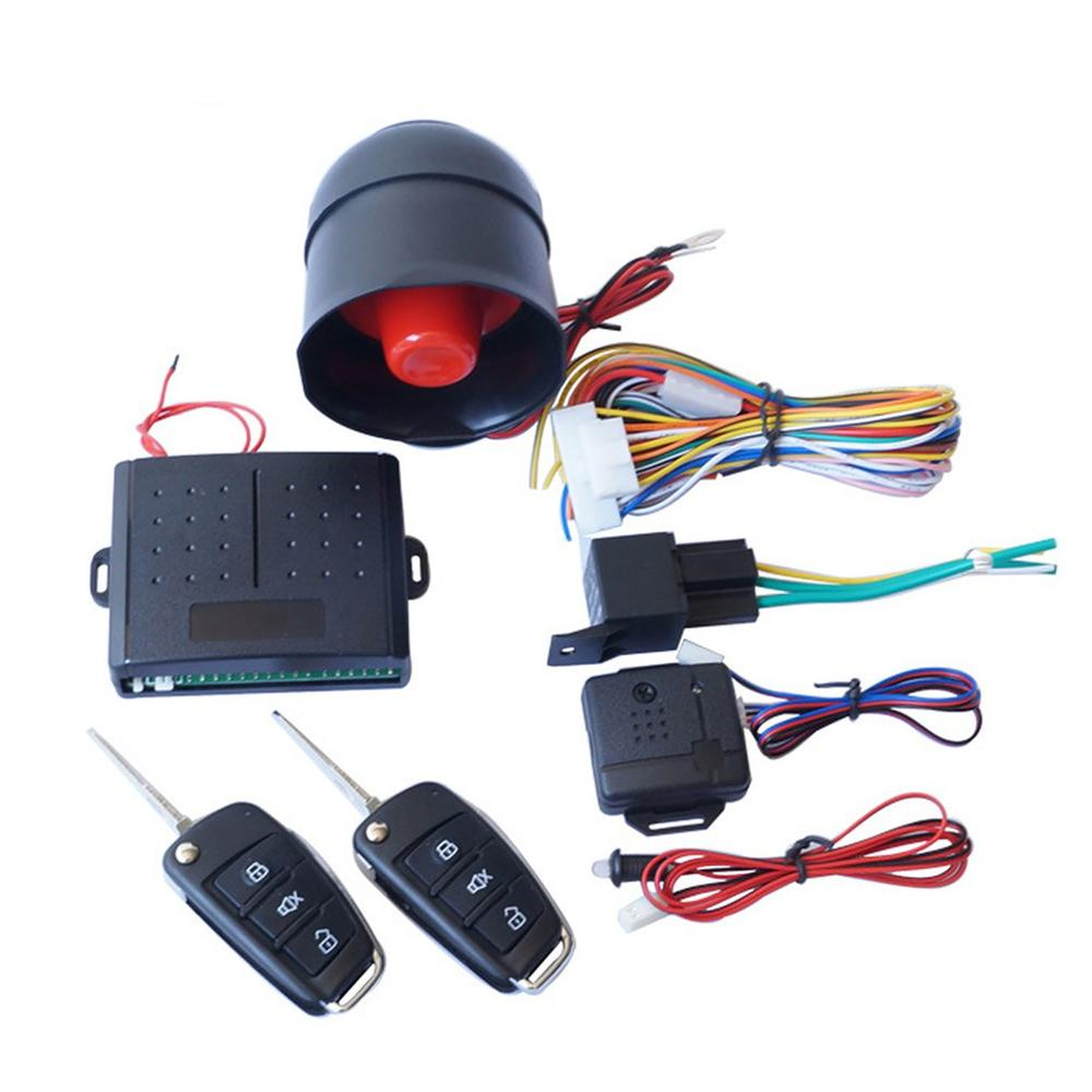 Car Alarm Remote Control Alarm Set Automatic Open Window Lift Box Control Lock One way Vehicle System Alarm|Burglar Alarm| |  - title=