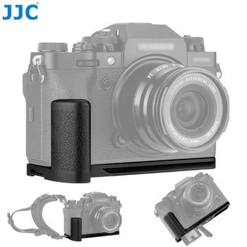 JJC Aluminum Arca-Type Camera Hand Grip For Fujifilm X-T4 Camera L Plate Bracket Enhance Hand-held Feeling for Video Recording фото