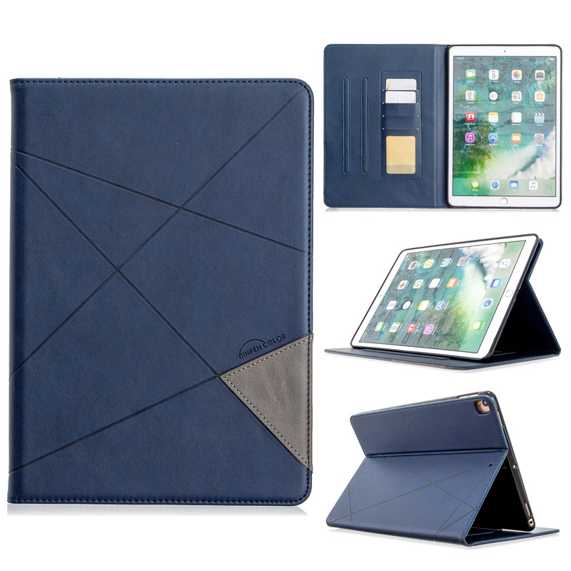 Funda Leather iPad 10.2 Flip For iPad 10 Stand Tablet Wallet Luxury Case PU For 2019