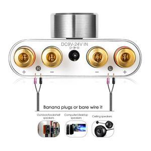 Image 4 - Nobsound Mini Bluetooth 5.0 Digital Amplifier Hifi Stereo Home Audio TPA3116 Power Amp 50W+50W Sound Car Amplifiers