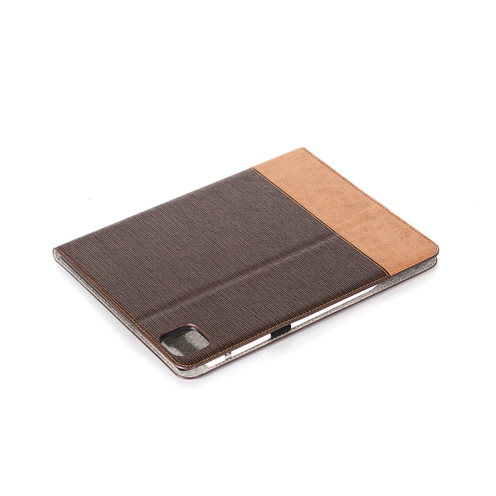 Brown iPad iPad Back Pro Cover Business For 12 Tablet Series 2020 2020 9 For Pro PU Case